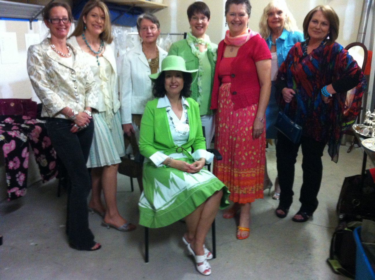 Daughters of the British Empire Fashion Show